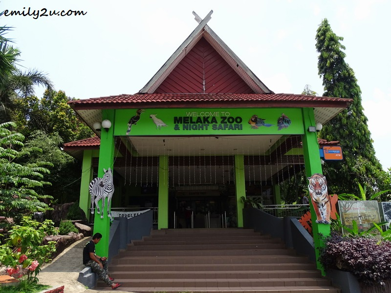 2. entrance to the zoo