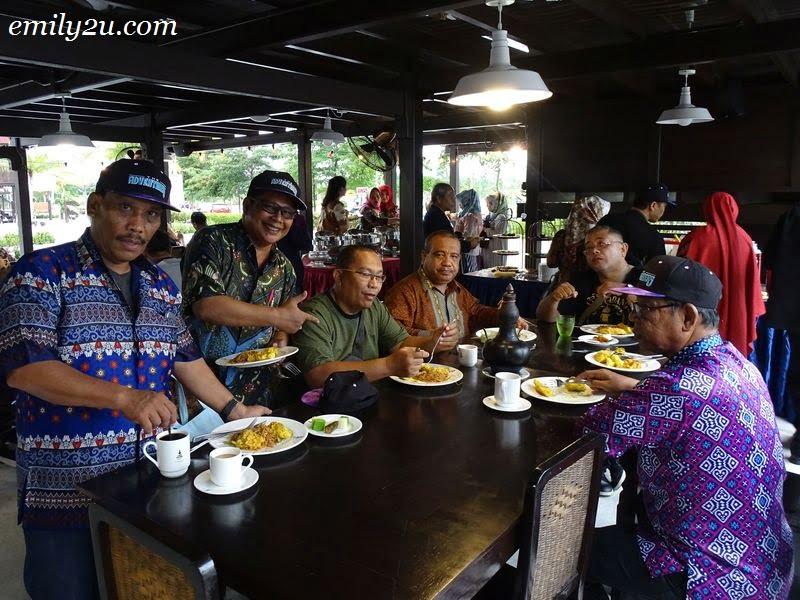21. hi-tea at Labu Sayong Signature, hosted by Menteri Besar Perak