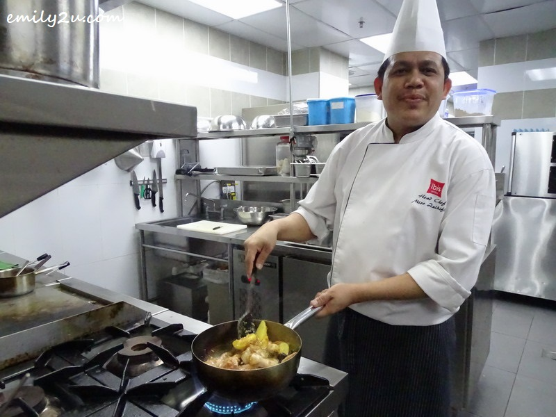 29. a brief visit to Chef Mior's (ibis Melaka Hotel head Chef) territory