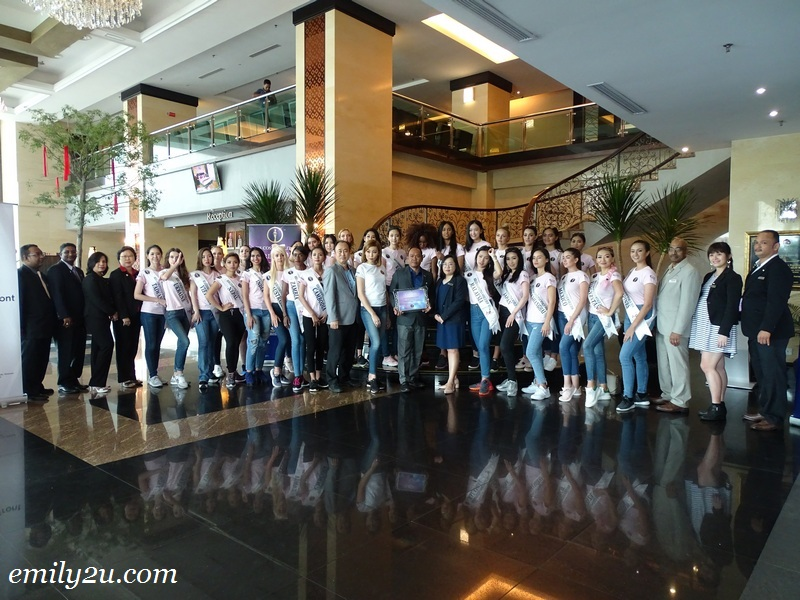 3. a group photo with staff of Kinta Riverfront Hotel & Suites