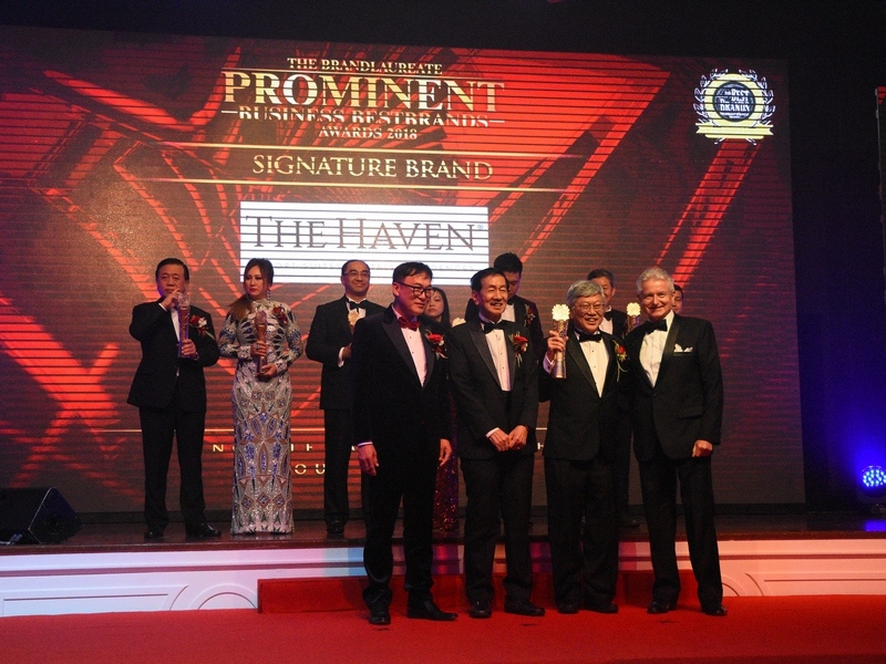 3. The Haven Resort Hotel Ipoh All Suites Chief Executive Officer Mr. Peter Chan receives The BrandLaureate Signature Prominent Business Award for Hospitality 2018