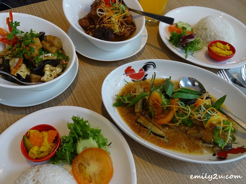 34. Nyonya lunch set at ibis Melaka Hotel