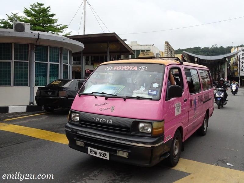 39. Pangkor taxi