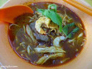 5 Fei Lou Wu Curry Mee