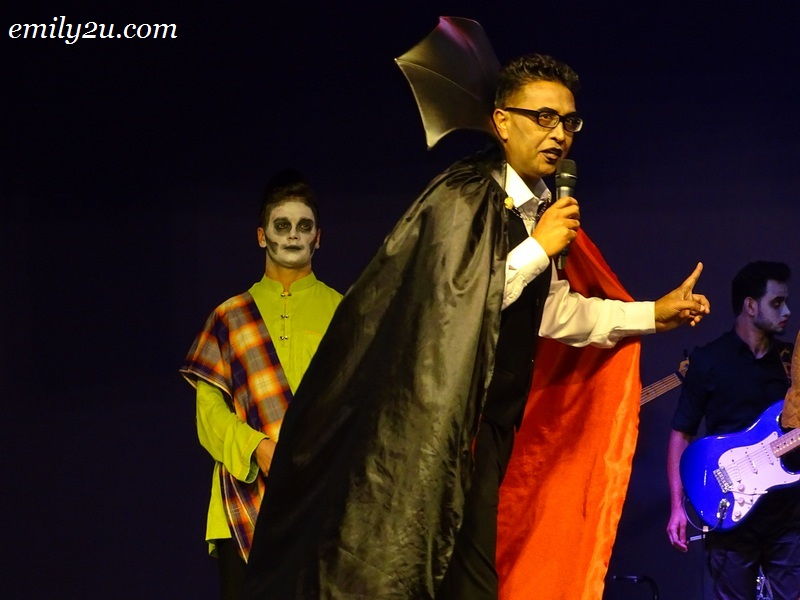 5. MAPS CEO Mr. Shafeii Abdul Gaffoor as Dracula