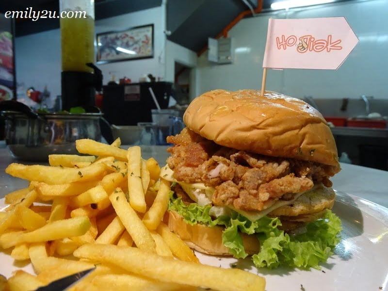 7. Special Pork Chop Burger