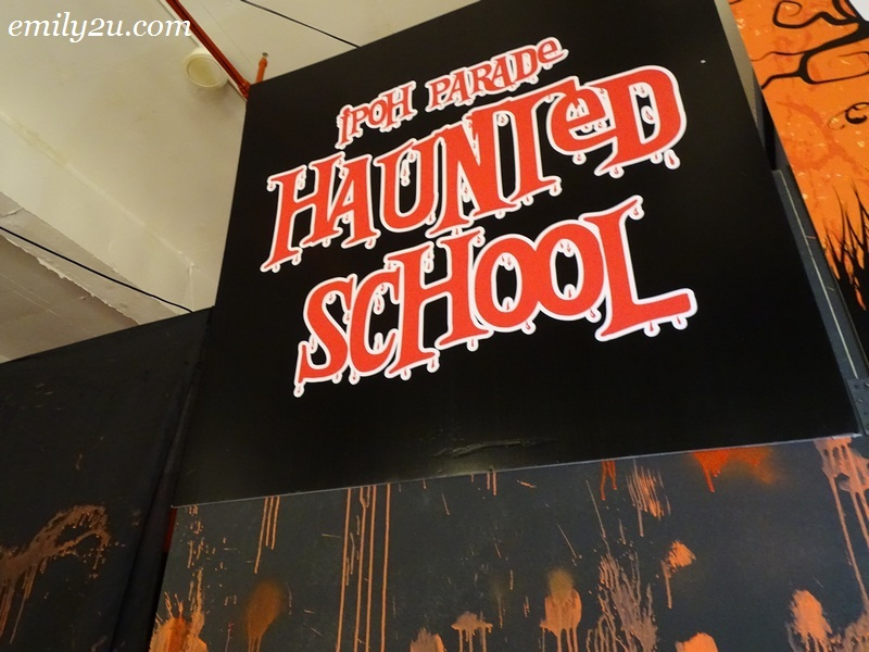 6. Ipoh Parade's Haunted School spooky attraction