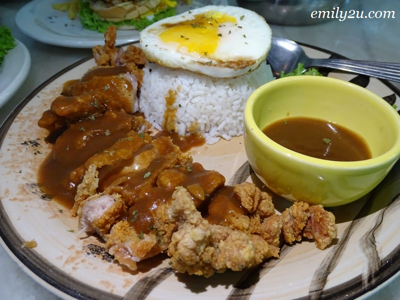 10. Chicken Chop Rice