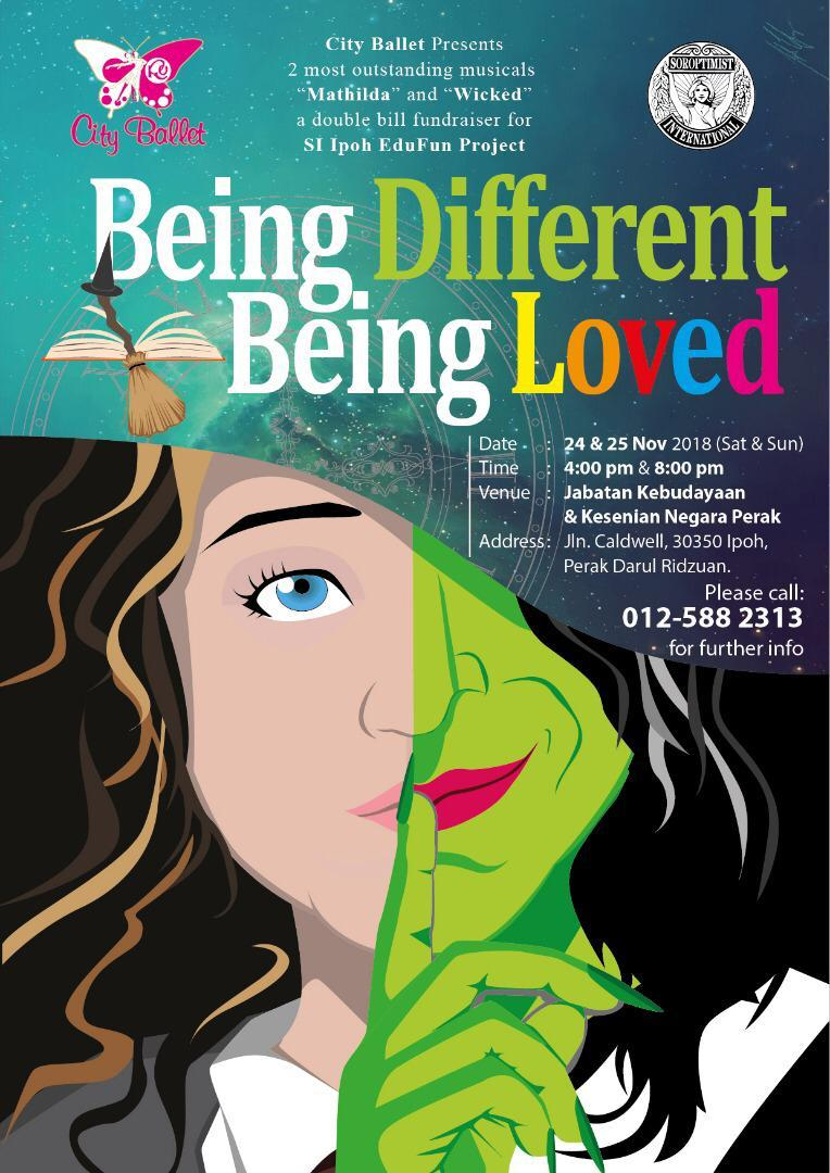 Announcement Being Different Being Loved – A Double Bill