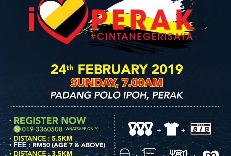 Announcement: I Love Perak Run 2019