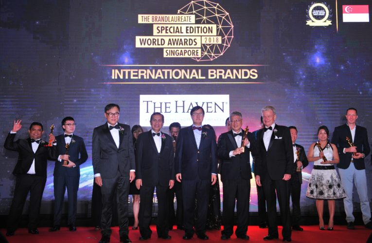 And the Prestigious BrandLaureate Special Edition World Awards Singapore 2018 Go To….