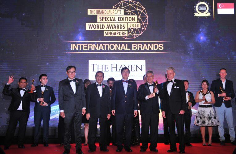 And the Prestigious BrandLaureate Special Edition World Awards Singapore 2018 Go To….