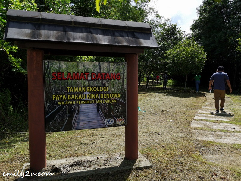 1. entrance to Kina Benuwa Mangrove Ecology Park