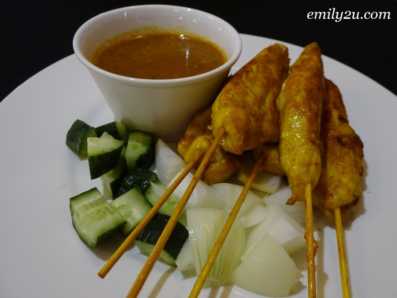 14. Chicken Satay