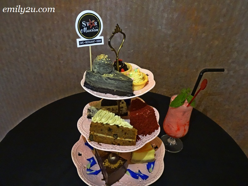 16. 3-layer Afternoon Tea Set of assorted in-house cakes