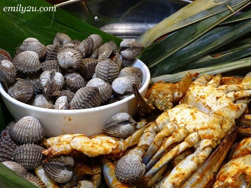 19. raw seafood