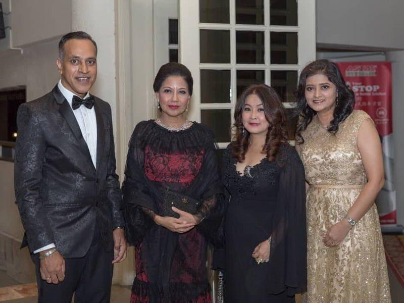 1. (L-R): IIFW Founder-cum- CEO Louis Sebastian, guest-of-honour YTM Raja Dato' Seri Azureen Binti Almarhum Sultan Azlan Muhibbuddin Shah Al-Maghfurlah, IIFW Board Member Ms. Maggie Ong and IIFW COO Ms. Adeline Khan