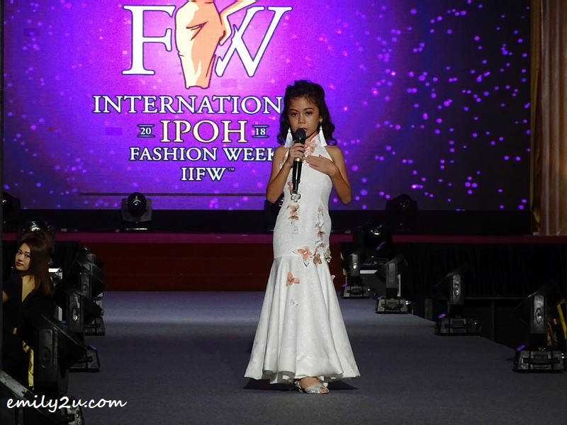 4. Lauren Natasha Campbell delivers a brief appeal for the cause of IIFW