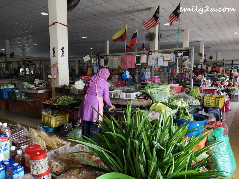 2. inside the market