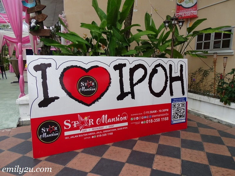 22. popular I Love Ipoh signage for photography