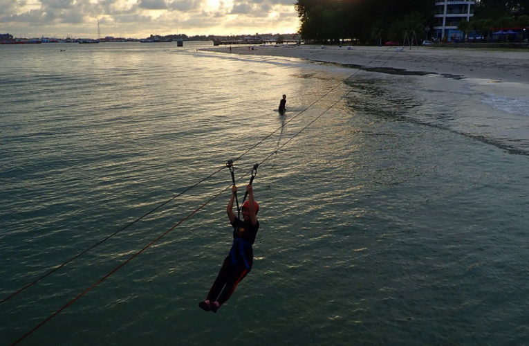 Mini Zipline Adventure in Labuan