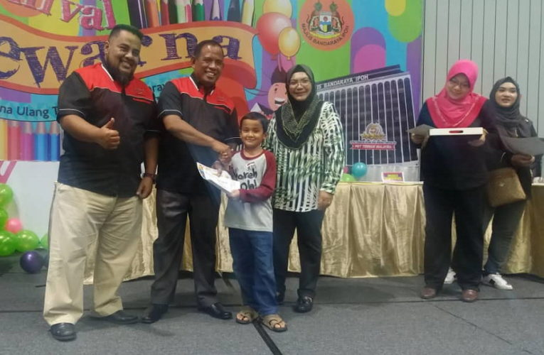 550-Strong Participation in Colouring Carnival