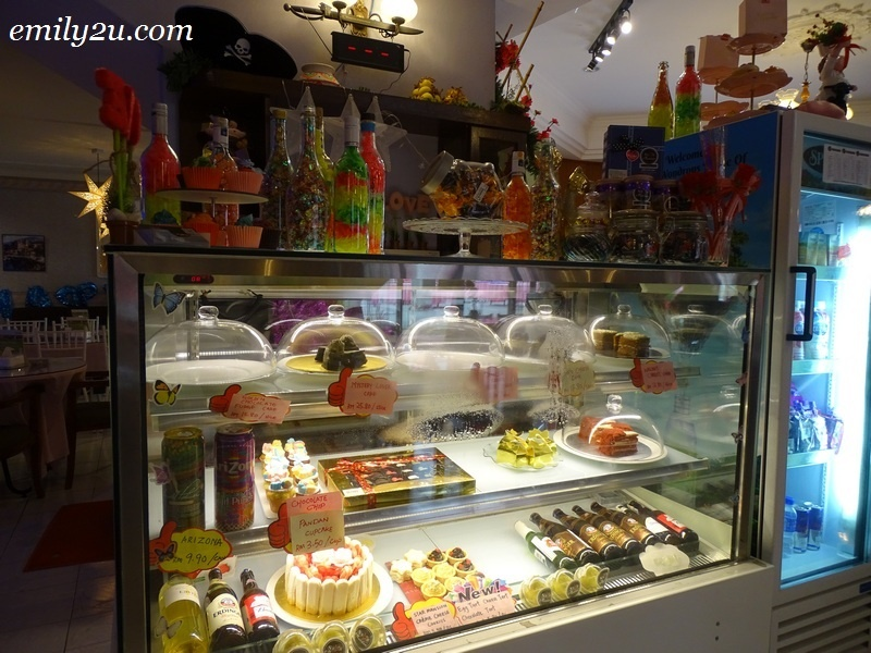 5. cakes and desserts counter