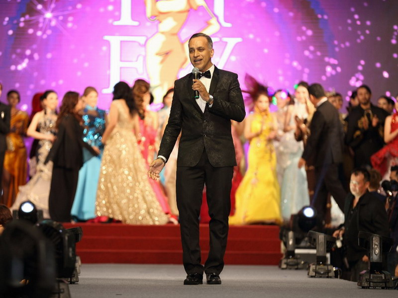 19. IIFW Founder-cum-CEO Louis Sebastian, the man whose vision for IIFW was to raise funds to help ill children of the community, and at the same time, increase awareness of fashion talent in Perak