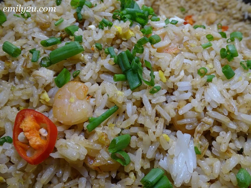7. Fried Rice with Shrimps