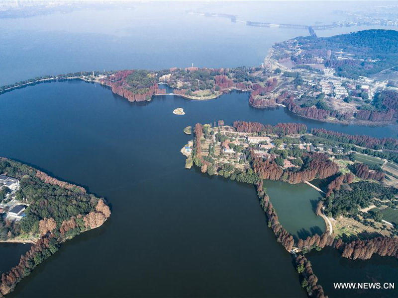 East Lake Scenic Area (Credit: China.org.cn)