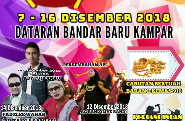 Thai Food Carnival 2018 in Kampar NOW!