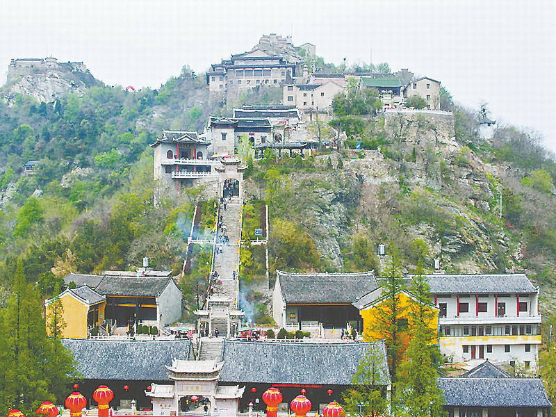 Mulan Mountain (Credit: Changjiang Daily)
