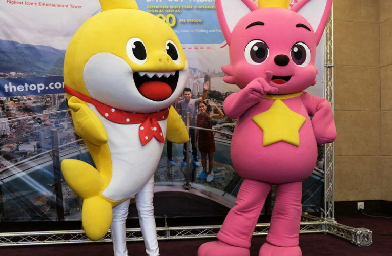 Announcement: Pinkfong & Baby Shark Promo Tour @ The Top Penang