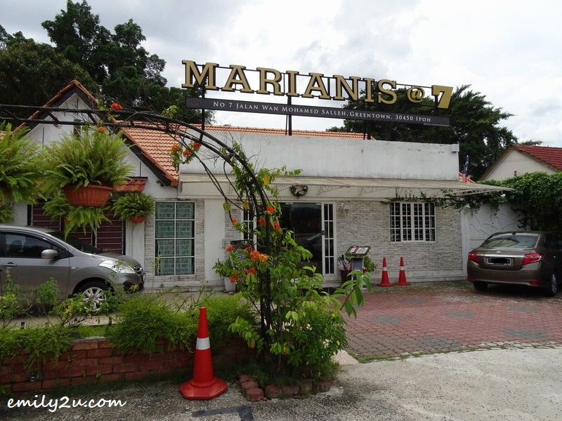 1. Marianis @ 7, Ipoh