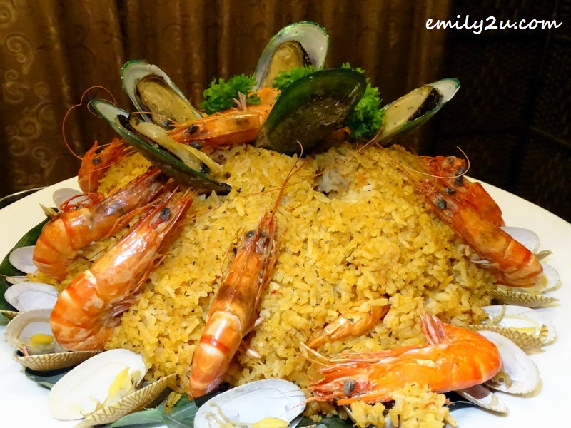 12. Spanish seafood paella