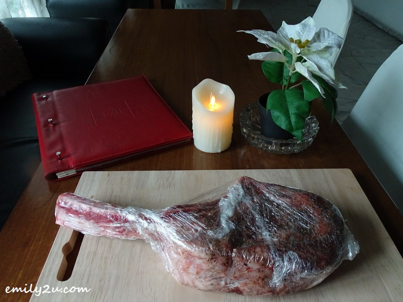 30. Wagyu Tomahawk Steak for order
