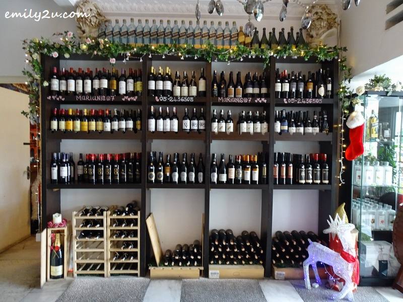 31. a comprehensive white wine selection at reasonable prices