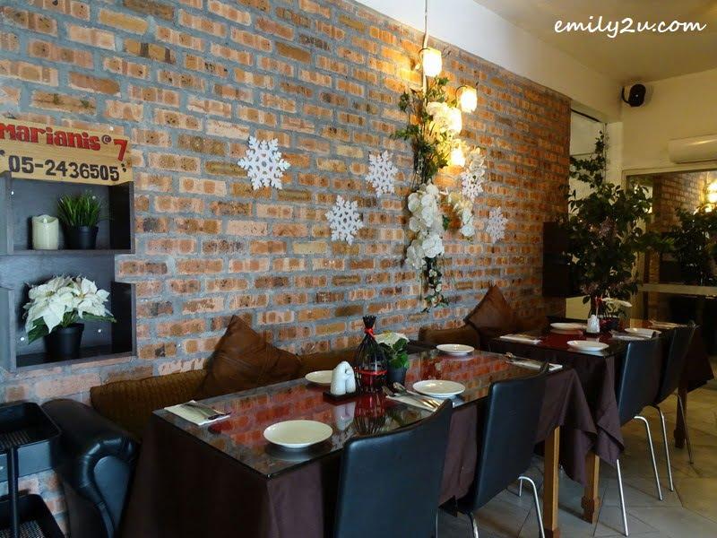 5. dining area