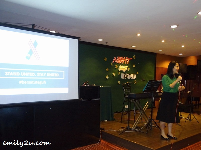 9. #Projek57 Director of Youth Empowerment Debbie Choa explains about the organisation's programmes