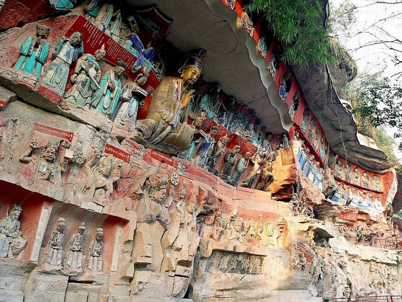 Dazu Rock Carvings (Photo credit: Chinaholidays.co.uk)