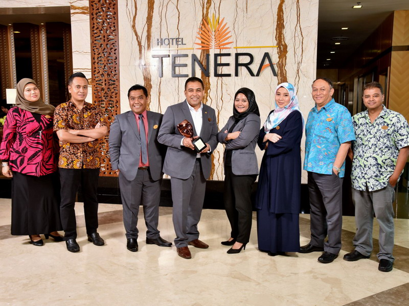 part of the management team of Hotel Tenera with the award