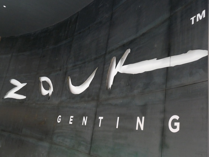 entrance to Zouk Genting
