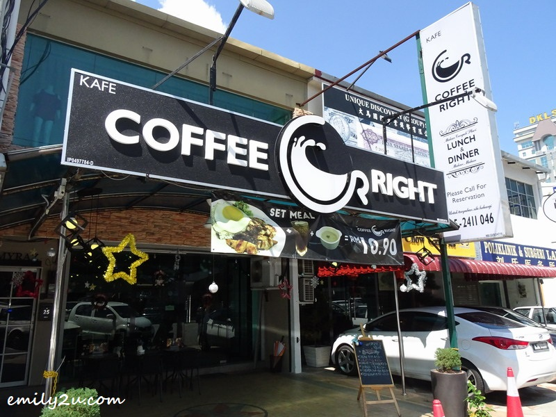 1. Coffee Right Café