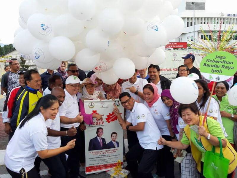 1. launching of Karnival Prihatin NGO-NGO Perak