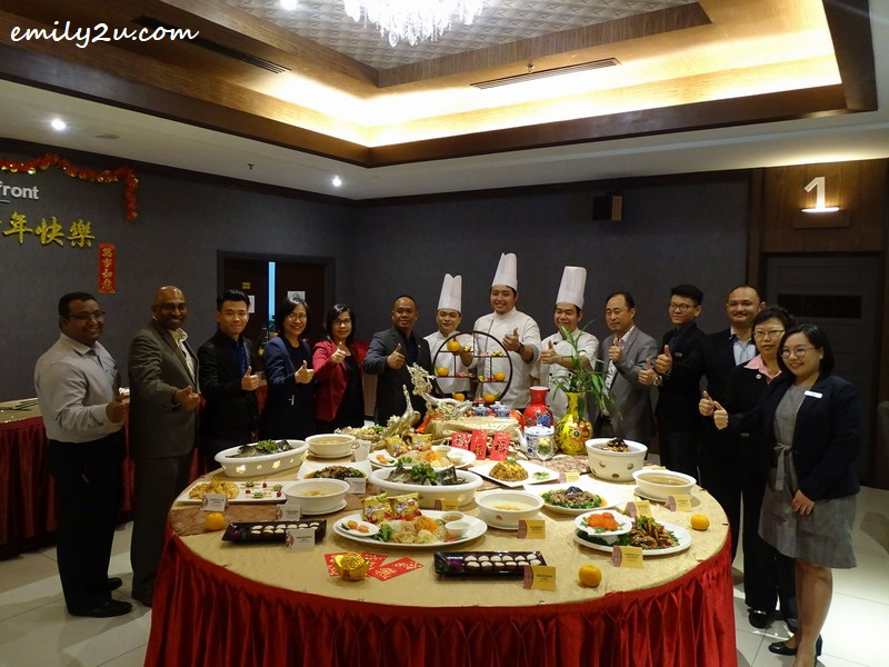 10. Kinta Riverfront Hotel management team and culinary crew