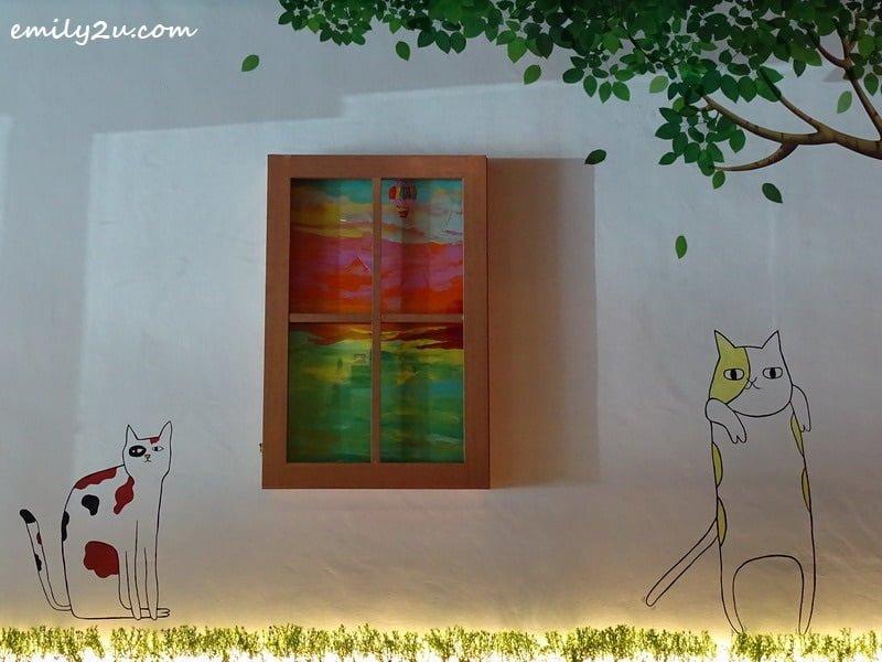 10. more cat mural