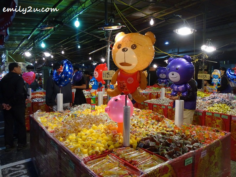 10. and candies
