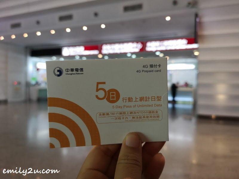 10. local prepaid SIM pack