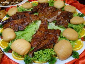 13 Menu B Roasted Crispy Chicken with Fermented Bean Curd