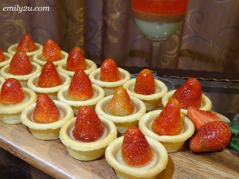 16. strawberry tartlets